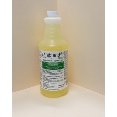 Safeblend Lemon Antibacterial Multi-Purpose Cleaner, Disinfectant, and Sanitizer