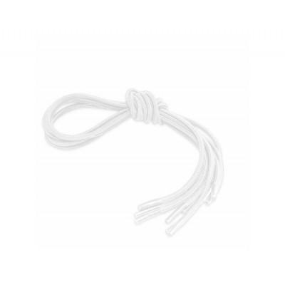 Lacets élastiques blanc
